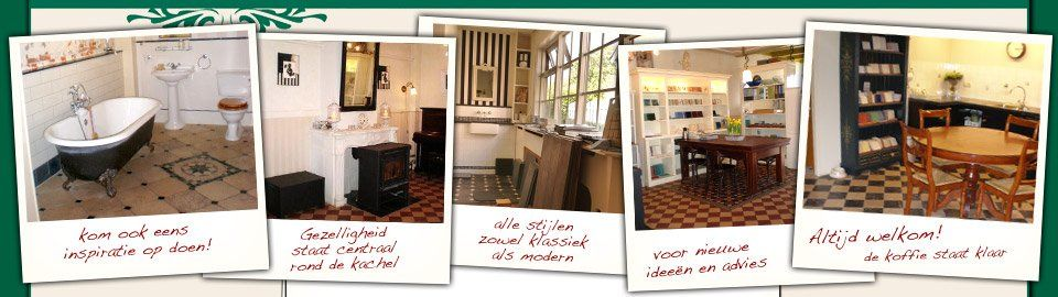Showroom van Hofstede Tegelhuys